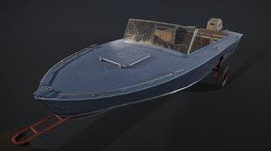 soviet boat model