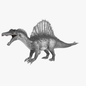 spinosaurus animations 3D model