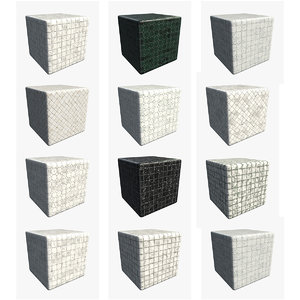 Marble Floor Tile Bundle 001 [001 to 012] (4K - PBR 2 Types Metal/Rough & Specular/Glossiness)