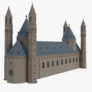 3D worms cathedral