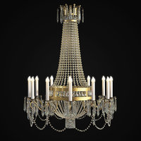 Classic Chandelier for Hotel Lobby and Ballrooms.