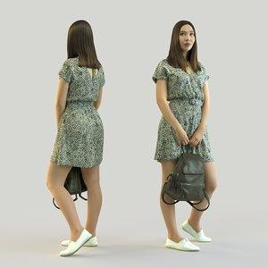 3D scan woman 13