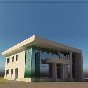 3D residential building architectural