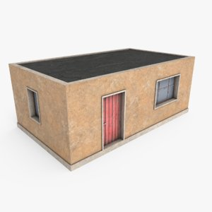 3D model ready favela house