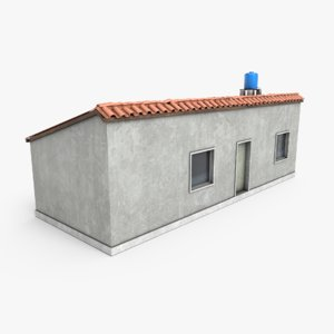 ready favela building 3D model