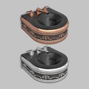 classic wash basin 3D