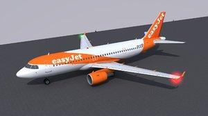 airbus a320 jet 3D model