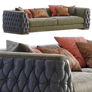 plaza sofa 3D model