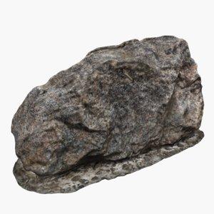 3D landscapes mineral stone model
