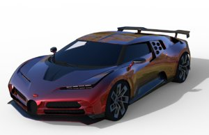 bugatty centodieci 2020 sports car model
