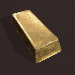 gold ingot large model