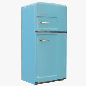 big chill retro fridge 3D model
