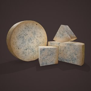 gorgonzola cheeses model