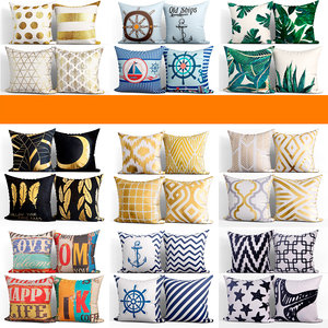 3D 50 decorative set pillow model
