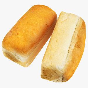 3D bread 08 model
