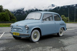 zaz-965 zaporozhets 1961 3D model