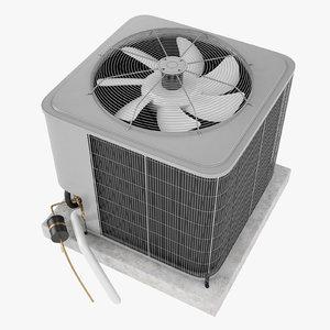 air conditioner condenser 3D