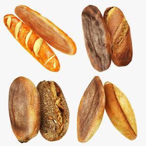 bread 2 3D