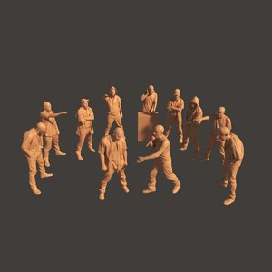 3D rappers scan