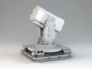 3D rim-116 rolling airframe model