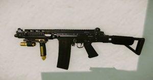 rifle fn 3D model