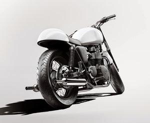 3D motorbike caferacer model