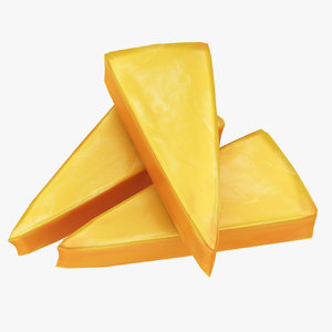 cheese 01 3D model