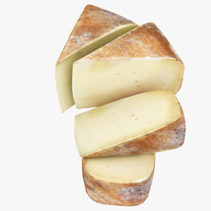 3D model cheese 05