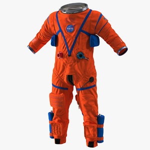 nasa ocss suit 3D model