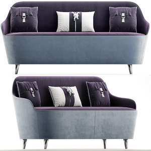 furniture sofa seat 3D model