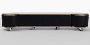 cabinet sideboard buffet 3D model