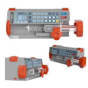 syringe pump sp-8800 3D