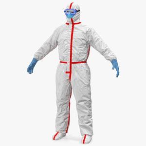 3D chemical protective suit