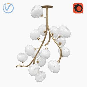 jeff zimmerman chandelier 3D model