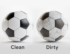 sport football ball 3D model