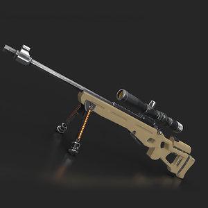 gun sv 98 3D