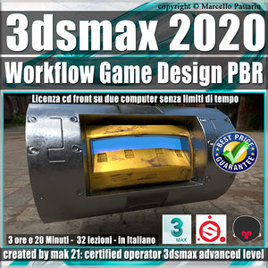3ds max 2020 Workflow Game Design PBR