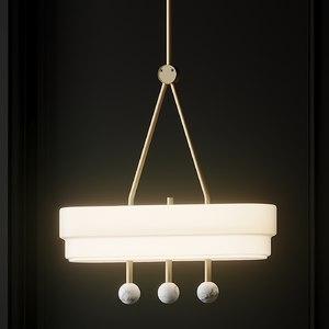 3D ceiling light from: bert