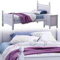 Angel single bed variant 1