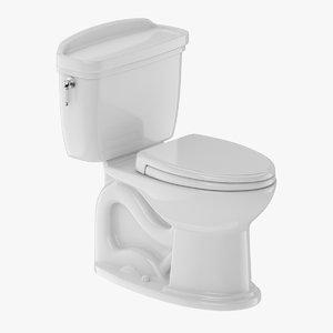 toilet piece two-piece 3D model