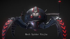 ball spiders 3D model