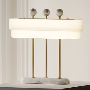 table lamps bert frank 3D