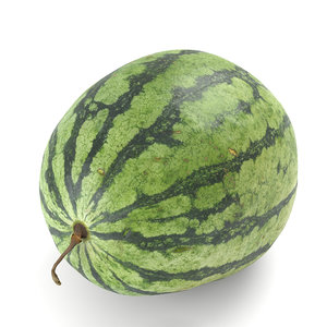watermelon photorealistic scanned 3D