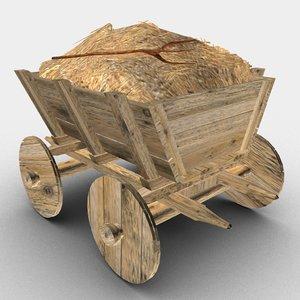 old cart 3D