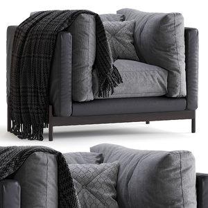 mea armchair 3D
