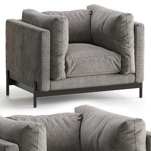 3D model mea armchair