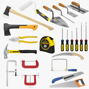 3D industrial tools kit