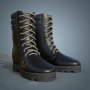 3D shoes boots