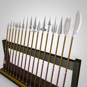 3D spears