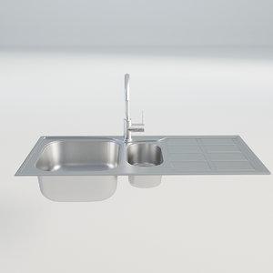 kitchen sink chrome model